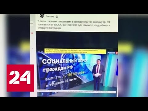 В Нижегородской области правоохранители ищут банду кибермошенников - Россия 24