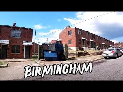 BIRMINGHAM ALABAMA WORST HOODS + HOUSING PROJECTS  💯