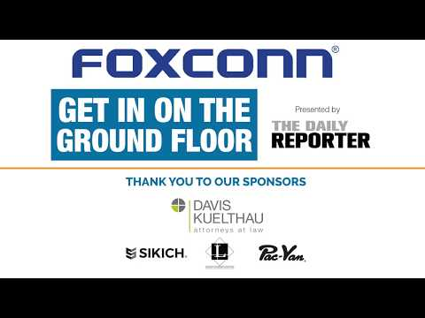 Foxconn Roundtable at Racine Memorial Hall