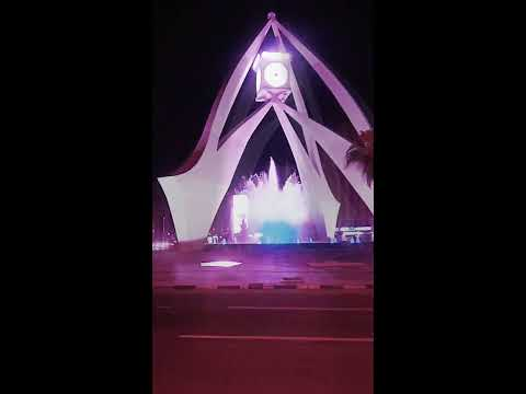 Deira clock tower night