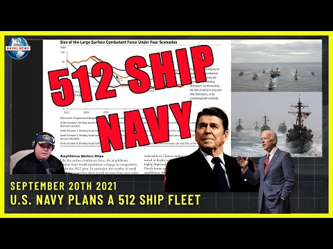 US Navy Plans for 512 Ships