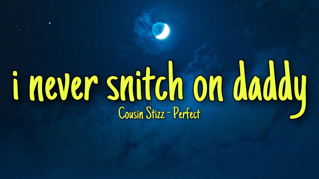 Cousin Stizz - Perfect ft City Girls (TikTok Songs) i never snitch on daddy tik tok