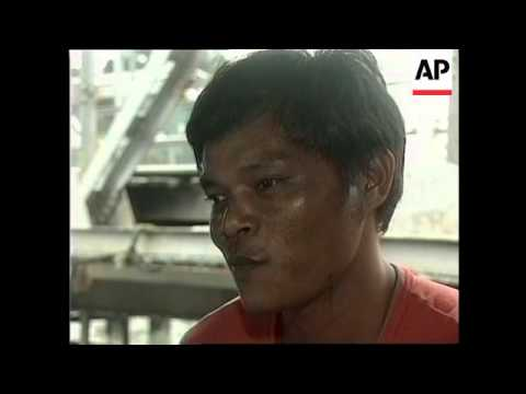 PHILIPPINES: POVERTY DRIVING PEOPLE TO SELL THEIR KIDNEYS