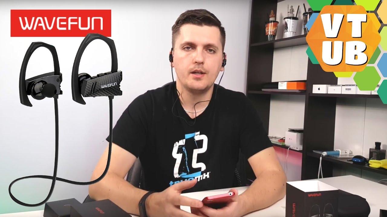 Беспроводные наушники Wavefun Flex - Обзор - YouTube