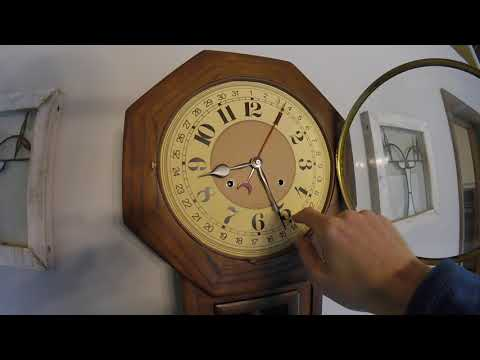 CHECK OUT OUR ***Vintage Hamilton Clock (31 Day)*** How To Wind