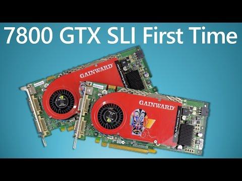 7800 GTX SLI First Time