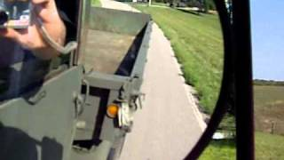 1965 Jeep M35a2c whistler test drive