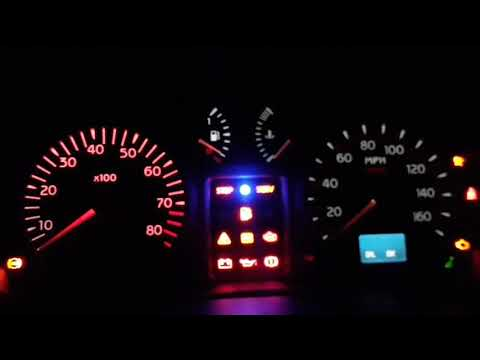 Clio 182 LED dial conversion with Rev gauge shift light upgrade.