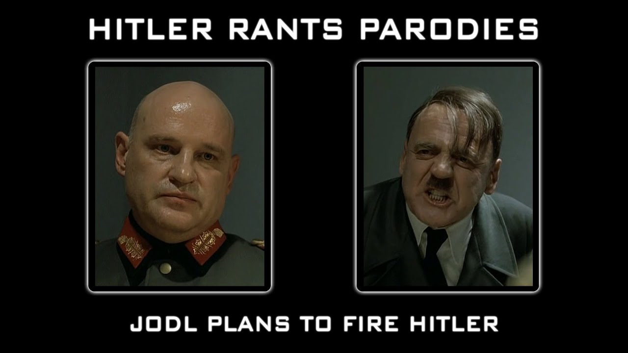 Jodl plans to fire Hitler