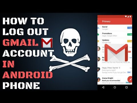 How To Log Out Gmail Account Android Phone 2019