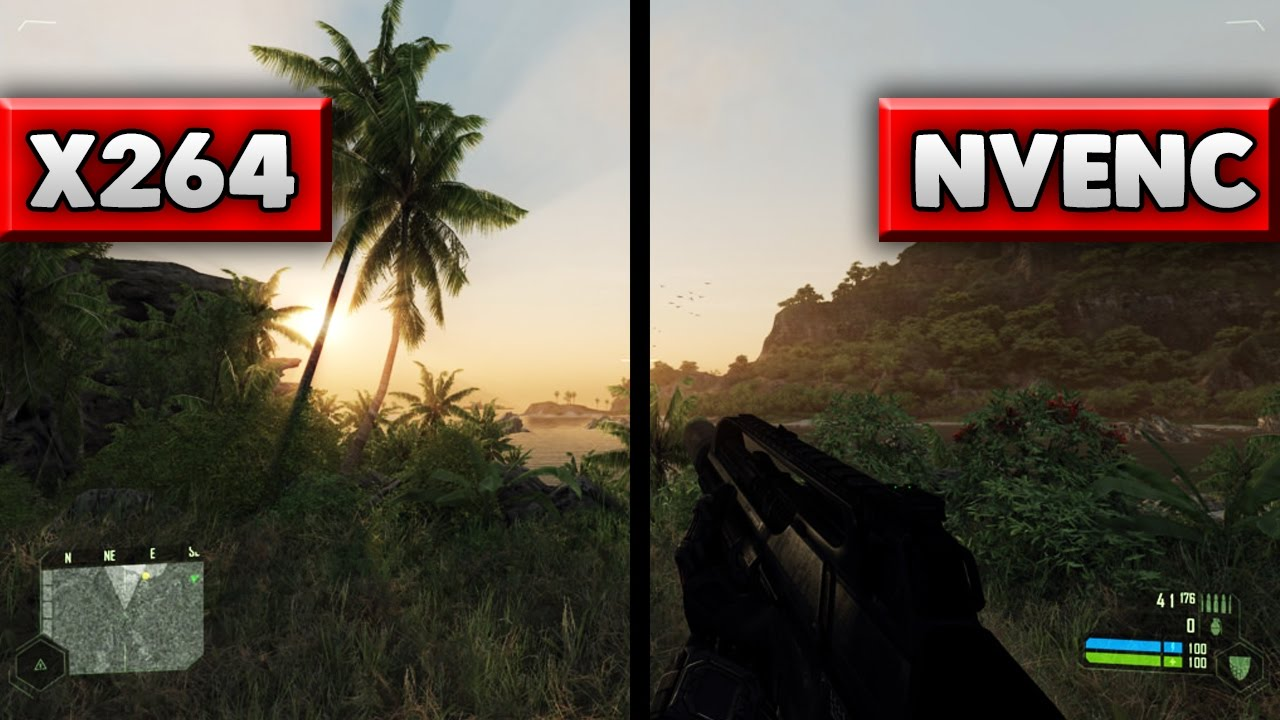 X264 vs  NVENC - OBS Quality Comparison (Live Streaming)