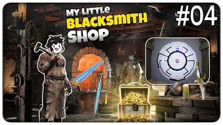 APRIAMO LA PORTA SEGRETA E DIVENTIAMO RICCHI CON I NUOVI METALLI | My Little Blacksmith Shop - ep.04