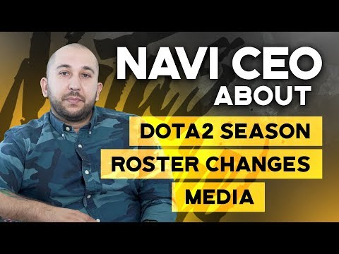 NAVI CEO about DOTA2 season roster changes and media - YouTube