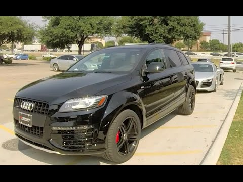 2015 audi q7 3 0 tdi youtube. Black Bedroom Furniture Sets. Home Design Ideas