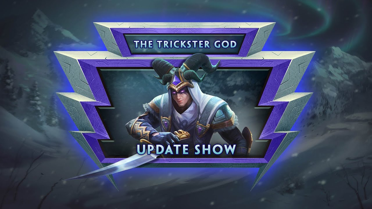 SMITE - Update Show VOD - The Trickster God