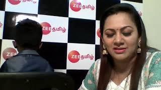 Interview with Kamalesh and Archana. Zee Tamil SaReGaMaPa little champs