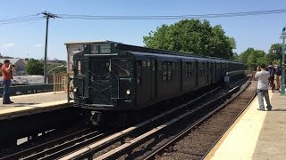 nyc subway nostalgia hd 60 fps riding r1 381 on brighton express brighton beach kings highway