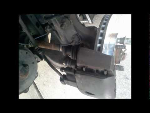 Replacing front brakes on 2005 Dodge Neon Sxt Travel Video