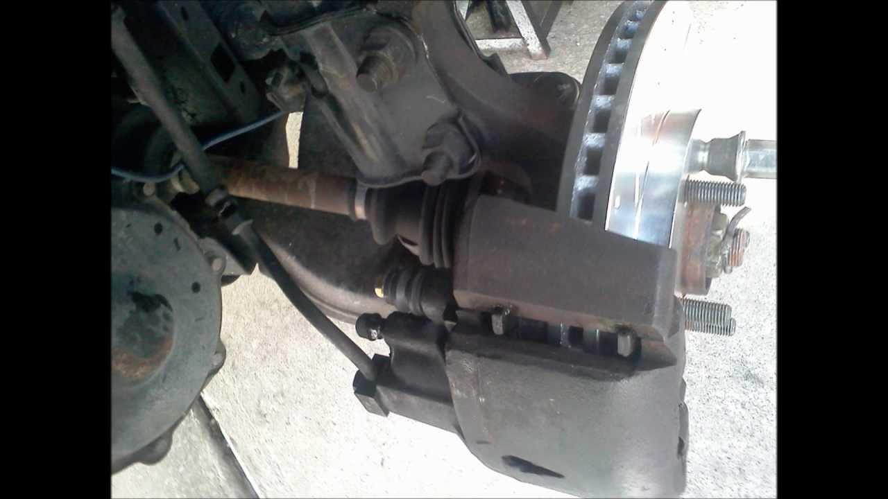 Replacing front brakes on 2005 dodge neon sxt