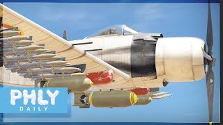 THE AD-4 TEAM - Baguette RAIDER (War Thunder Planes Gameplay)