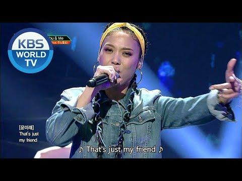 Yoon Mirae (Feat. Junoflo) (윤미래 (Feat. 주노플로)) - You & Me [Music Bank COMEBACK / 2018.07.06]