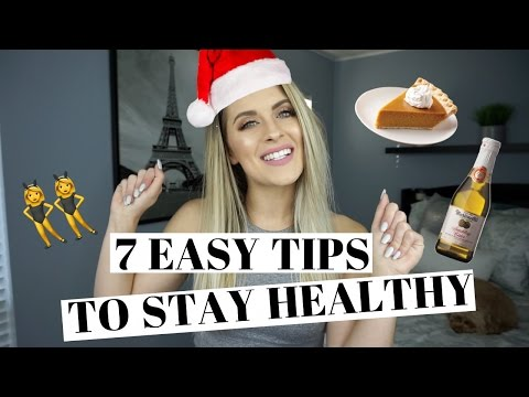 HOW TO STAY FIT During The Holidays | Tips & Tricks!