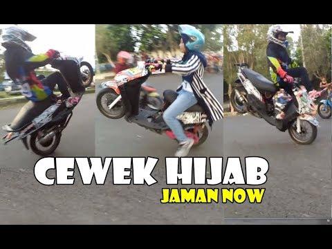 Cewek Cewek Hijab Jaman Now Jago Freestyle