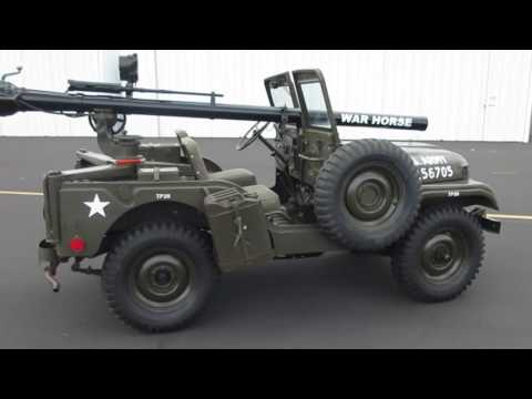 1953 M38A1C Willys Military Jeep on GovLiquidation com