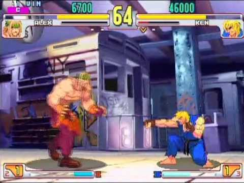SFIII: 3rd Strike - Alex [Genki] vs Ken [Matsuken]