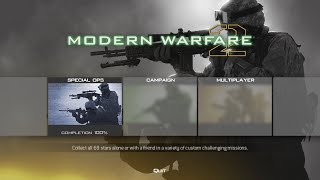 Call of Duty: Modern Warfare 2 - All Special Ops Missions Complete on Veteran (Gameplay/Walkthrough)