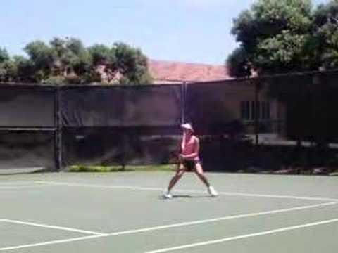 tennis match in San Diego #4