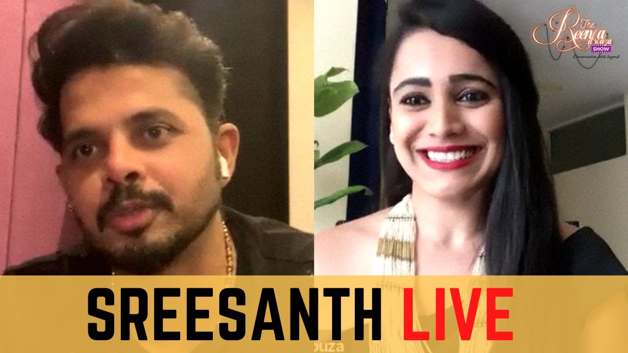 Download Indian Cricketer S.Sreesanth LIVE on The Reena Dsouza Show | S2 Episode 3 - Part 1
