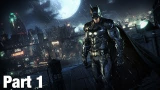Batman Arkham knight live gameplay part one