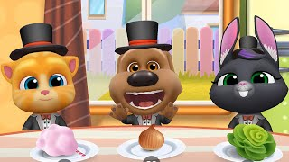 MY TALKING TOM FRIENDS 🐱 ANDROID GAMEPLAY #112 -TALKING TOM AND FRIENDS BY OUTFIT