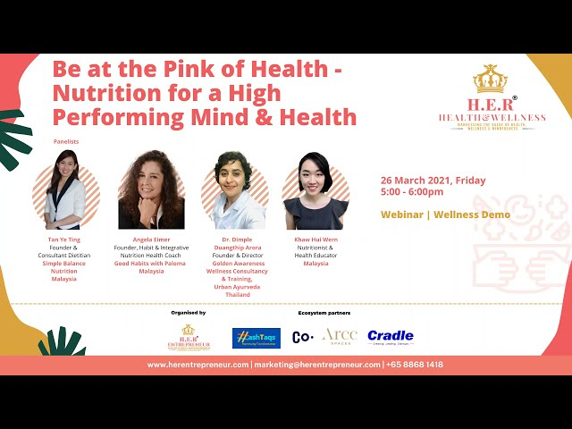 Nutrition for your Mind & Health | HER® Health & Wellness March 2021