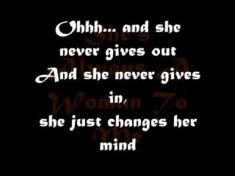 SHE'S ALWAYS A WOMAN TO ME with lyrics -Billy Joel