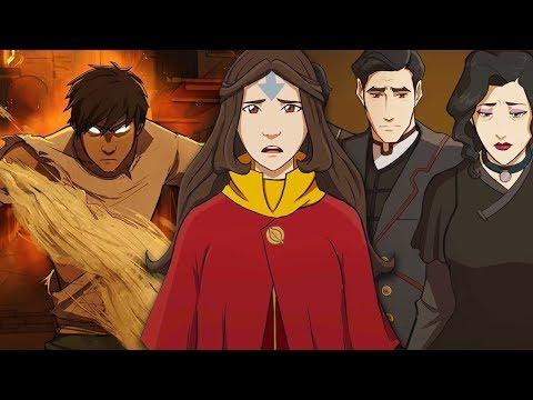 Новый Аватар Легенда о Генджи - пролог мультсериала