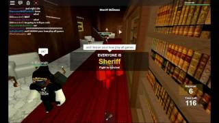 Roblox :Mad games Sheriff Madness