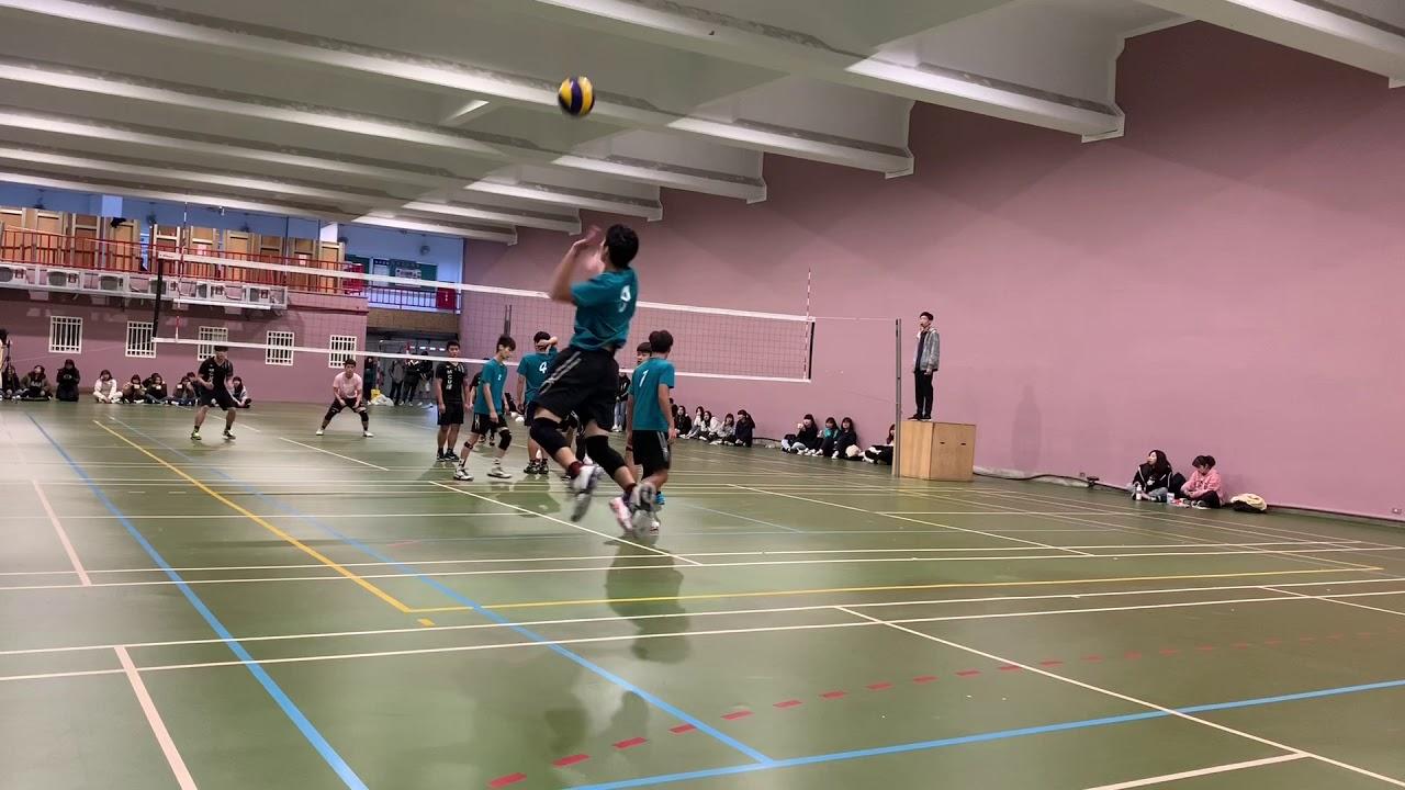 108排球聯賽 銘傳風保vs銘傳財金 第一局 - YouTube