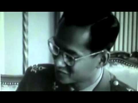 Thai king speaking French