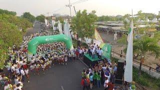 BPJS Ketenagakerjaan Kantor Wilayah Jawa Timur Sidoarjo - FUN RUN 2015