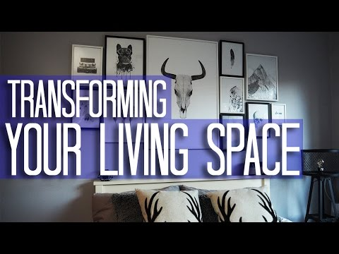 Transform your living spaces | Creating a Feature Wall | Interior Design