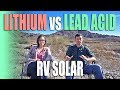 Lithium vs Lead Acid Batteries for RV Solar - Full Time RV Living
