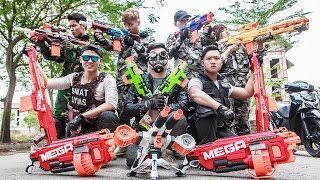 LTT Nerf War : SEAL X Warriors Nerf Guns Fight Criminal Group Dr.Lee Dark Light