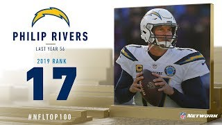 #17: Philip Rivers (QB, Chargers) | Top 100 Players of 2019 | NFL