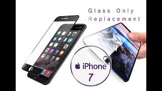 Original Apple iPhone 7 Glass Only Replacement / Remplacement du verre
