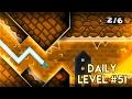 "DAILY LEVEL #51 | Geometry Dash 2.1 - ""Massacre"" by GD Jose | GuitarHeroStyles"