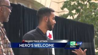 American hero Anthony Sadler appears at City Hall