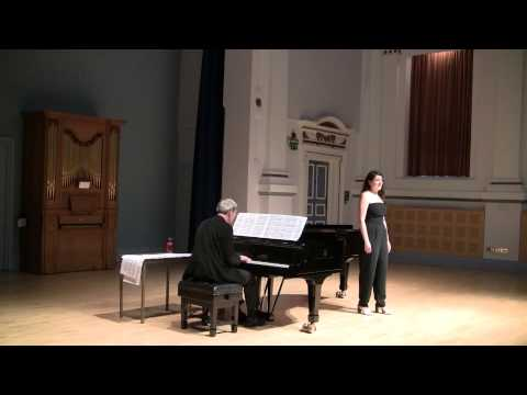Katie Reimann Final Recital - Quando m'en vo, song to the mo