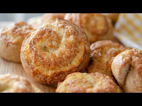 СЫРНЫЕ БУЛОЧКИ | улитки с сыром или творогом - можно добавить любую начинку!
